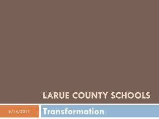 LaRue County Schools