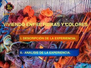 VIVIENDO ENTRE FIBRAS Y COLORES