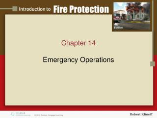 Chapter 14 Emergency Operations