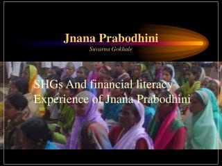 Jnana Prabodhini Suvarna Gokhale