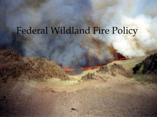 Federal Wildland Fire Policy