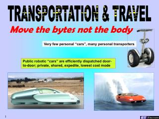 TRANSPORTATION & TRAVEL