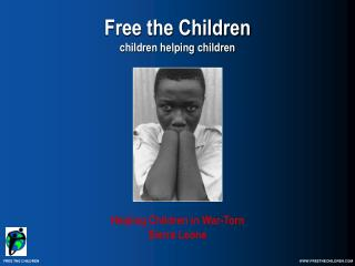 Free the Children children helping children