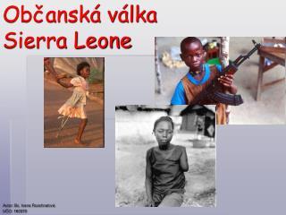Občanská válka Sierra Leone