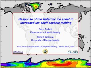 Response of the Antarctic ice sheet to increased ice-shelf oceanic melting