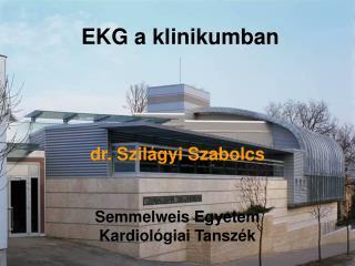 dr. Szilágyi Szabolcs Semmelweis Egyetem Kardiológiai Tanszék