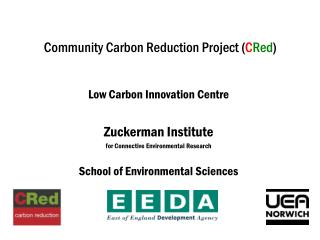 Community Carbon Reduction Project ( C Red )