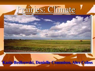 Prairies: Climate