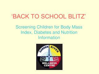 'BACK TO SCHOOL BLITZ'