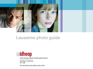 Lausanne photo guide