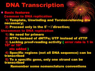 DNA Transcription