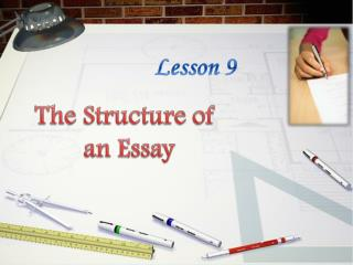 The Structure of  an Essay