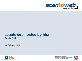 scantoweb hosted by hbz
