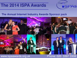 The Annual Internet Industry Awards S ponsor pack