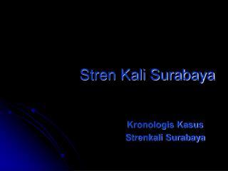 Stren Kali Surabaya