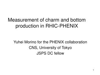 Measurement of charm and bottom production in RHIC-PHENIX