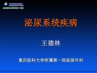 泌尿系统疾病 王德林  重庆医科大学附属第一院泌尿外科