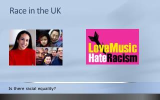 Race in the UK