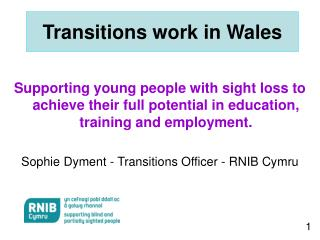 Transitions work in Wales