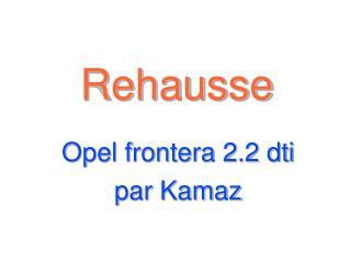 Rehausse