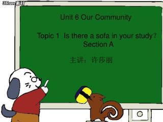 Unit 6 Our Community