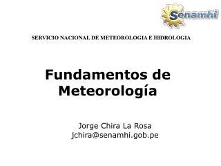 Fundamentos de Meteorolog�a