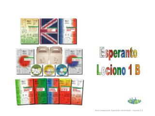 Esperanto Leciono 1 B