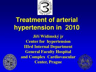 Treatment of arterial hypertension in   20 10
