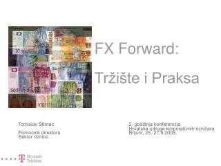 FX Forward: Tržište i Praksa