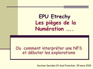 EPU Etrechy  Les pi ges de la Num ration  ..