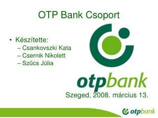 OTP Bank Csoport