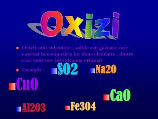 Oxizi