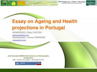 Essay on Ageing and Health projections in Portugal