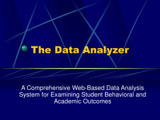 The Data Analyzer