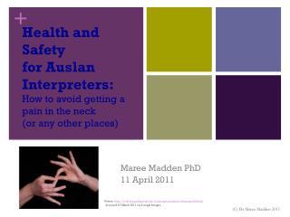 Maree Madden PhD 11 April 2011