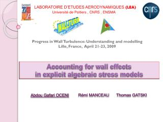 Accounting  for  wall effects in explicit  algebraic  stress  models
