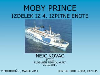 MOBY PRINCE