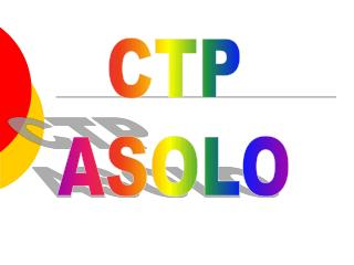 CTP ASOLO