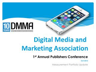 Digital Media and  Marketing Association
