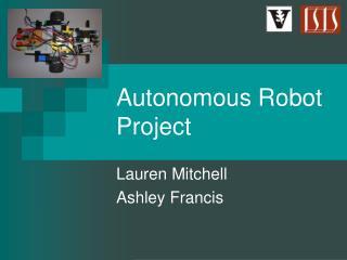 Autonomous Robot Project