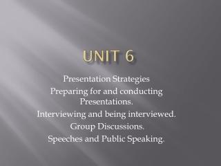 Powerful Presentations II  - Speaking Strategies, Practice and Presentation