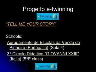 Progetto e-twinning
