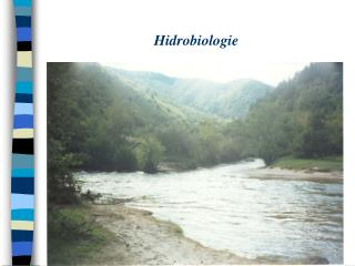 Hidrobiologie