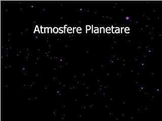 Atmos fere Planetare