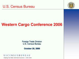 Western Cargo Conference 2006