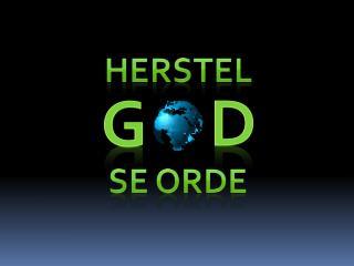 HERSTEL
