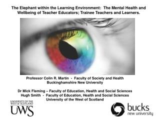 Professor Colin R. Martin  -  Faculty of Society and Health Buckinghamshire New University