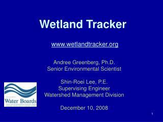 Wetland Tracker