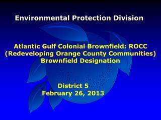 Environmental Protection Division