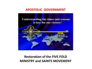 APOSTOLIC  GOVERNMENT